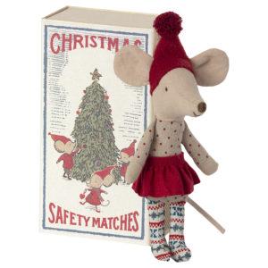 Maileg Christmas mouse big sister