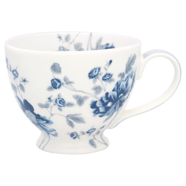 GreenGate Teacup Charlotte white Tausendschoen