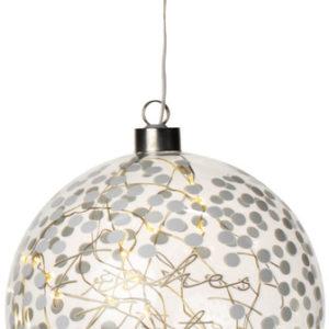 LED Lichtkugel Frohes Fest groß