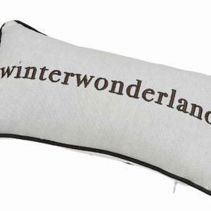 Winterzeit Kissen Winterwonderland