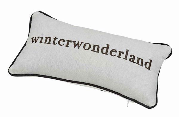 Winterzeit Kissen Winterwonderland Räder Tausendschoen