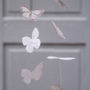 Kette Schmetterling 120cm