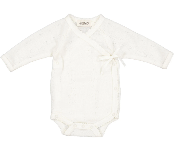Babybody Belita Wool Pointelle Natural Mar Mar Copenhagen Tausendschoen Kindertraum