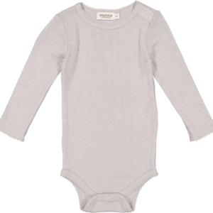 Babybody Benedikte Wool Pointelle