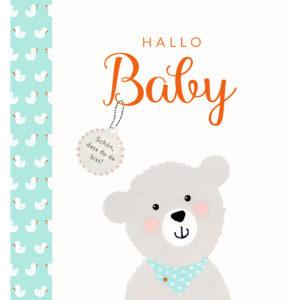 Eintragalbum - Hallo Baby