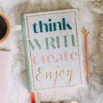 Schreibbuch A5 Think Write Create Enjoy