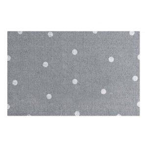 Fußmatte weiße Punkte