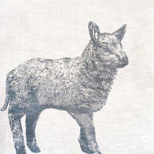 Frohstoff Geschirrtuch Lamm