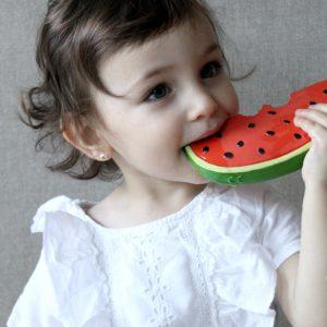 Oli and Carol Wally the Watermelon