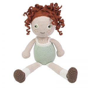 Sebra Häkel Puppe Hanna