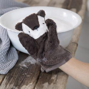 Sebra Waschhandschuh Bär