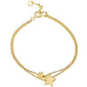 XMAS bracelet worn gold   SENCE Copenhagen Dealer Portal